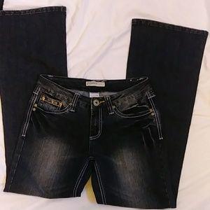 No boundaries wide leg Jeans size 1